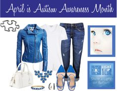 """April is Autism Awareness Month"" by sculp0401 on Polyvore"