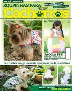 Artesanato com amor...by Lu Guimarães: LANÇAMENTO: Revista Roupinhas para Cachorros