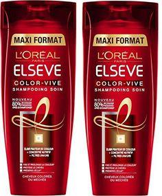 L'Oréal Paris Elsève Color-Vive Shampooing Cheveux Colorés ou Méchés 400ml Lot de 2: Tweet Shampooing Soin Elsève Color-Vive pour cheveux…