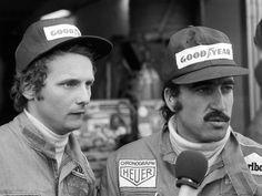 Bild zu Ferrari: Niki Lauda und Clay Regazzoni