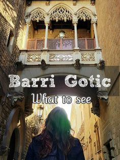 Barri Gotic, or Gotic quarter is the most beautiful place in Barcelona. See where to go and what to do here :) Beautiful Places, Most Beautiful, Roman Columns, The Cloisters, Historical Architecture, Where To Go, Perfect Place, Barcelona Cathedral, Travel Tips