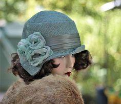 Fall Winter Warm Fashion Chemo Hat in 20s Great Gatsby Style Great Gatsby  Fashion a402f12797fa