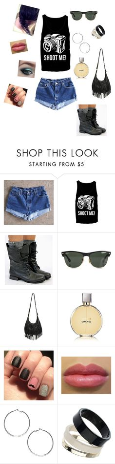 8 by braveryandlove on Polyvore featuring moda, Levi's, Wet Seal, Wallis, Dorothy Perkins, Ray-Ban and Chanel