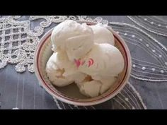 Maraş Dondurması Tarifi - YouTube