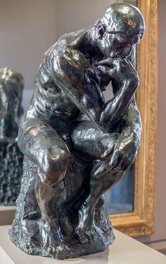 Le Penseur (taille originale) en bronze, fonte Alexis Rudier, 1917 Musée Rodin, Paris