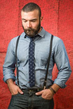 Navy Polka Dot Knit Tie - Philly
