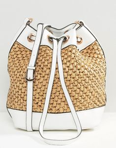 Image 1 of New Look Straw Duffle Bag Best Handbags bf5d5a1f5f93e
