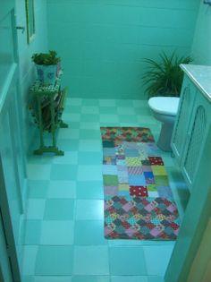 O tacho da Pepa: Banheiro novo por menos de R$300,00 ?? E sem quebra quebra ??( Editado)