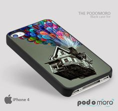 Disney Up House for iPhone 4/4S, iPhone 5/5S, iPhone 5c, iPhone 6, iPhone 6 Plus, iPod 4, iPod 5, Samsung Galaxy S3, Galaxy S4, Galaxy S5, Galaxy S6, Samsung Galaxy Note 3, Galaxy Note 4, Phone Case