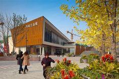 #wood #architecture #modern Parklex http://www.archiref.com/en/ref/urban-landscapes-human-scale-31125?flagged=1#.UkfTIz8gpP4