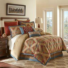 Canyon River Comforter Set in Multi - BedBathandBeyond.com