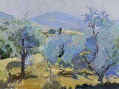 Olive Trees, Portugal. Bob Rudd
