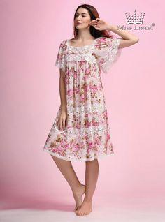 New 2016 MISS LINDA Products #follow #like #Sleepwear #nightgowns