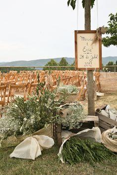 La Garriga de Castelladral - Bodes: Casament Rústic-Chic de la Mireia i l'Eric (primera part)