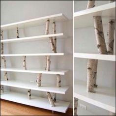 Obviously, this is the most affordable version of shelving.