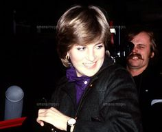 Early November 1980 Lady Diana Spencer on what i believe is the day she went to Lord Snowdons studio for the Vogue photoshoot. (alpha)