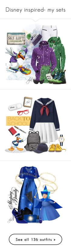 """""""Disney inspired- my sets"""" by dgia ❤ liked on Polyvore featuring Capranea, Disney, NIKE, Arc'teryx, Patagonia, Kyi Kyi, The North Face, Karl Lagerfeld, Dr. Martens and Bulgari"""