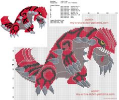 Latest photos - page 14 - free cross stitch patterns simple unique alphabets baby Beading Patterns, Cross Stitch Patterns, Crochet Patterns, Pokemon Groudon, Cross Stitching, Cross Stitch Embroidery, Pokemon Cross Stitch, Crochet Pokemon, Pokemon Craft