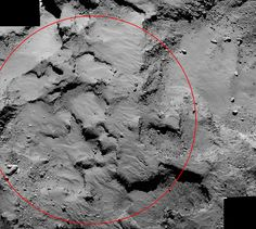 Rosetta's Comet Landing Site Close Up | NASA Lay of the Land: Where on comet #67P that the Rosetta Mission plans to land the Philae lander on Nov 12: http://1.usa.gov/1F0zTNW