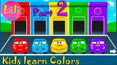 Kids Part 2 - learn Colors and Words with cute activities Educational ga...