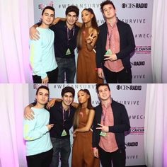 -NEW PHOTOS- Ariana's Meet and Greet with fans at 97.1AMP Radio's #WeCanSurvive (October 22)