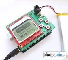 In this project, we are building a programmable single/multi cell lithium battery charger shield for Arduino. The shield provides LCD and button interface which let the user set the battery cut-off voltage from 2V to 10V and charge current from 50mA to 1.1A. The charger also provides the ability to monitor the battery status before [...]