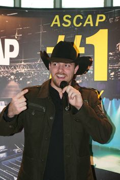 "Chris Young at the ""Gettin' You Home (Little Black Dress)"" No. 1 party in Nashville on Nov. 24, 2009 Photo By: Marilu White"