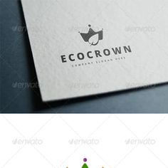 Crown Logo Graphics, Designs & Templates from GraphicRiver (Page Crown Logo, Eco Green, Company Slogans, Coreldraw, Graphic, Illustration, Cards Against Humanity, Place Card Holders, Templates