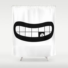Loneliness Shower Curtain by simon oxley idokungfoo.com - $68.00