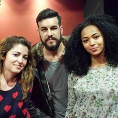 Con grandes actores #palmerasenlanieve #actores #visavis #carcel #peliculas #films #mario_houses #berta_vazquez_ #rizos #madrid #malasaña #huertas #teatro #fotos #centro #guapos by chenoa1