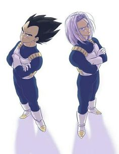 Imagem de trunks, vegeta, and dragon ball