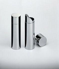 Alessi - Bauhaus Tea Doser | Modern Furniture | Zinc Details