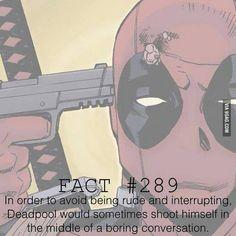Funny marvel deadpool fourth wall 49 Ideas Deadpool Facts, Deadpool Funny, Deadpool And Spiderman, Marvel Facts, Marvel Funny, Marvel Memes, Deadpool Stuff, Deadpool Quotes, Deadpool Costume
