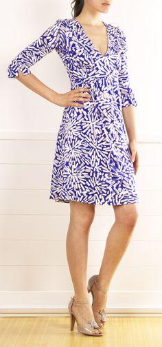 Diane Von Furstenberg Consuelo Print Dress