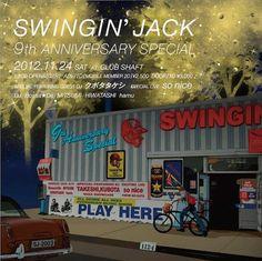 Swingin' Jack 9th ANNIVERSARY SPECHAL 24.11.2012 Flyer