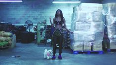 Angel Haze Werkin Girls, and she from my city, I like her rapping skills, a true MC in my opinion