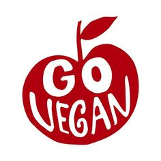 Go Vegan Apple Vinyl Decal (Many colors and sizes available) Neon Green, Green Colors, Wall Decals, Vinyl Decals, Surface Studio, Color Changer, Red Poppies, Going Vegan, Flasks
