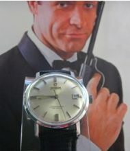 "In the 1963 James Bond movie ""From Russia with Love,"" Sean Connery wore an OMEGA Seamaster De Ville. - See more at: http://www.crownandcaliber.com/watches/omega/de-ville/#sthash.UIw6Mc09.dpuf"