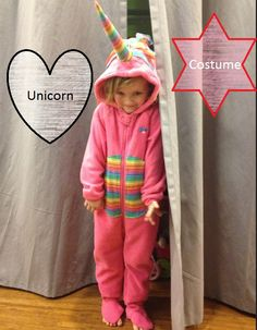 Unicorn costume halloween - did not have time to fulfill her wishes this year, but this would be a great way to do a unicorn for next year.