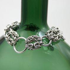 Byzantine Wave Bracelet II by Utopia-Armoury