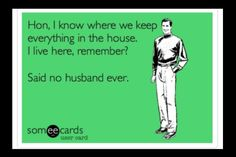 What husbands say...