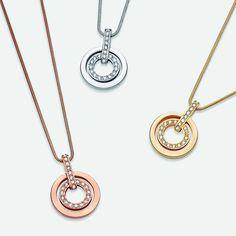 Brilliance comes full circle. Find your perfect pendant! #swarovski