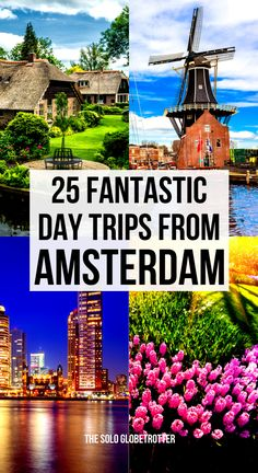 Day trips from Amsterdam | Best day trips from Amsterdam | Day trips from Amsterdam by train | Day trips from Amsterdam to Brussels | Day trips from Amsterdam windmills | Easy day trips from Amsterdam | one day trips from Amsterdam | Day trips from Amsterdam winter | Day trips from Amsterdam fall | Kinderdijk | Haarlem | The Hague | Giethoorn | Alkmaar | Amsterdam forest | Things to do near Amsterdam | Things to do around Amsterdam | Where to go from Amsterdam by train #Amsterdamtravel European Travel Tips, Travel Tips For Europe, European Destination, Travel Advice, Travel Guides, Day Trips From Amsterdam, Worldwide Travel, Winter Travel, Travel Around The World
