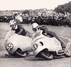 Vintage Motorcycle Race