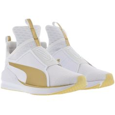 2f81429d18ff pumashoes 29 on. Gold High Top SneakersWhite ...