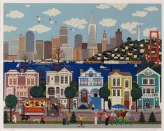 City by the Golden Gate by Jane Wooster Scott