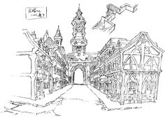 background_design little_witch_academia little_witch_academia_the_enchanted_parade settei yuuji_kaneko
