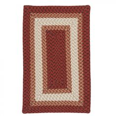 Colonial Mills Rhodes Wildfire Braided Rug - RO71