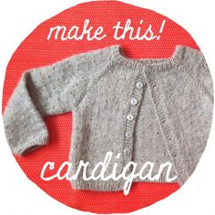 Seed stitch cardigan
