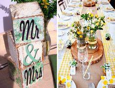 Decoración en madera para tu casamiento